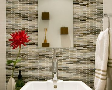 Bathroom Backsplash Styles And Trends Hgtv Elegant Backsplash In Bathroom