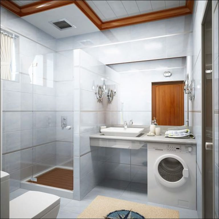 Bathroom Laundry Room Combo Fascinating Bathroom Laundry Room Combo Floor Plans