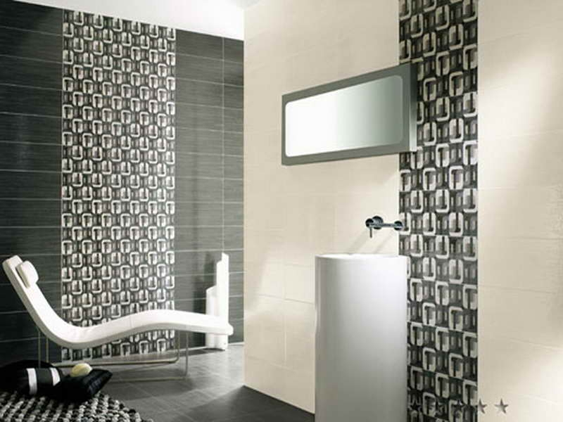 Bathroom Tile Design Patterns With Grey Colour Httplanewstalk Modern Design Bathroom Tile