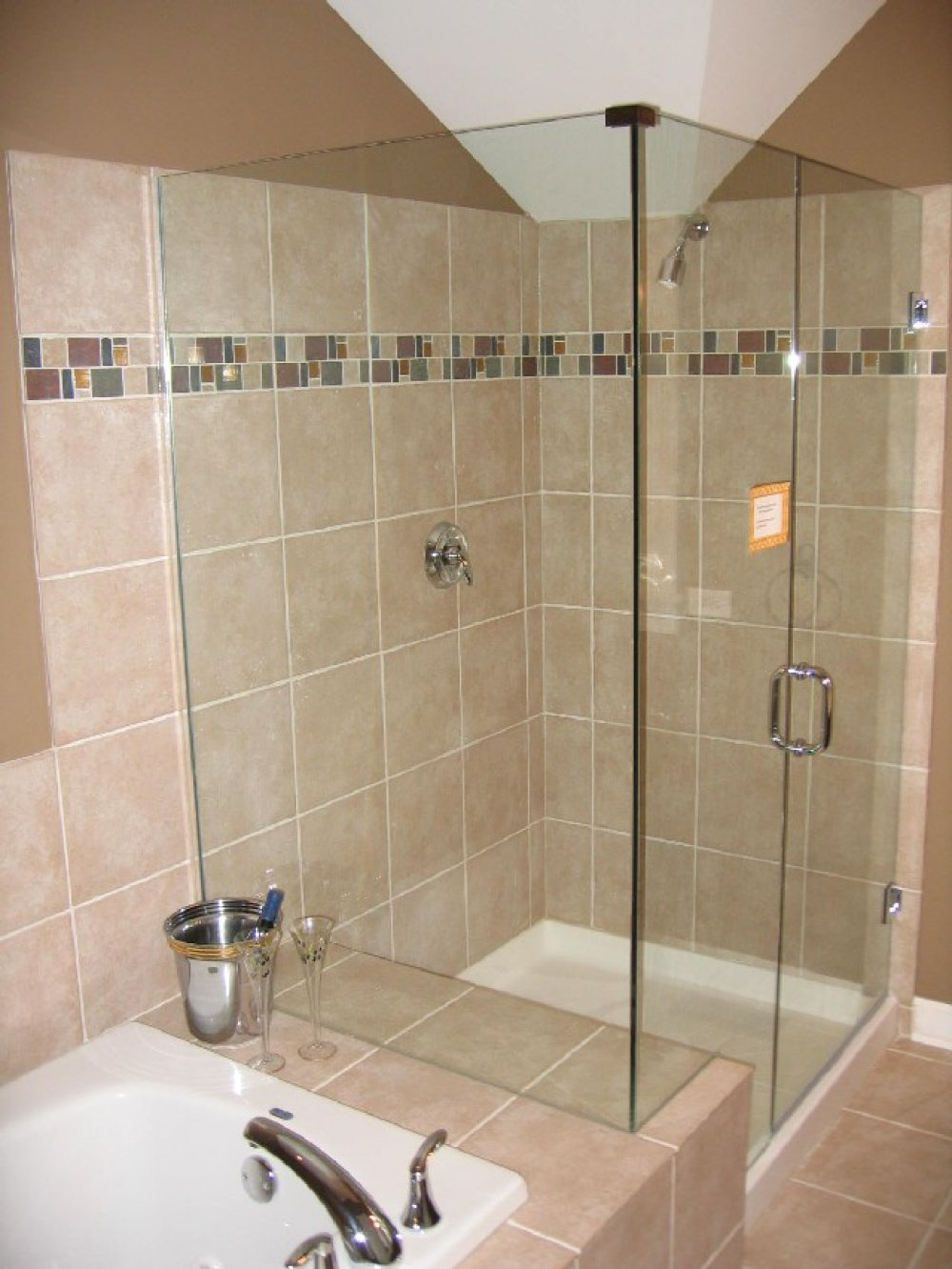 Bathroom Tile Ideas For Amusing Shower Wall Tile Designs