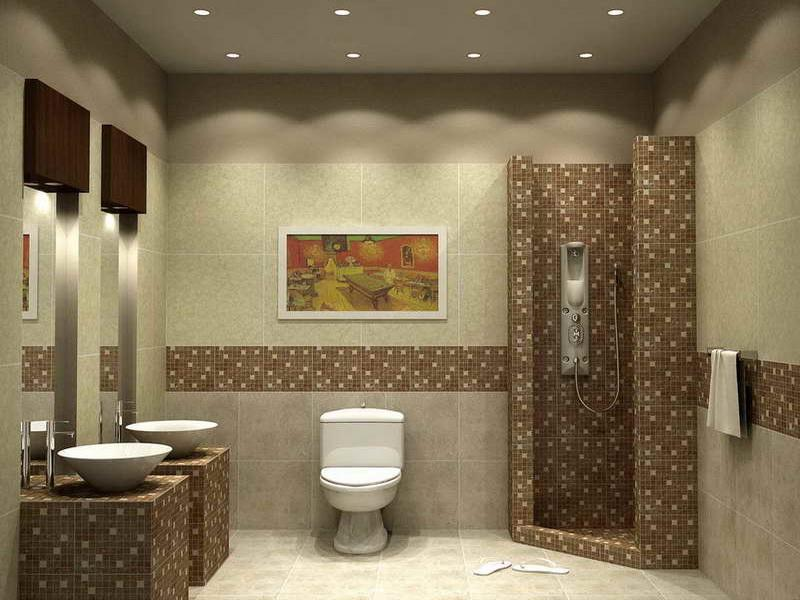 Bathroom Tile Wall Designs Amazing Bathroom Wall Designs