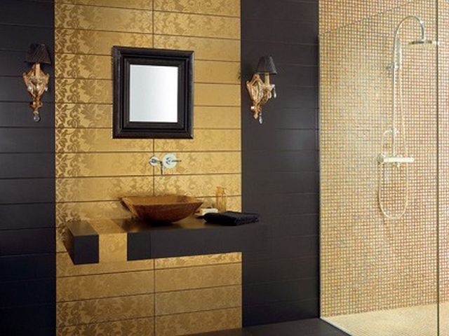 Bathroom Wall Tile Designs Custom Bathroom Wall Tiles Design Ideas