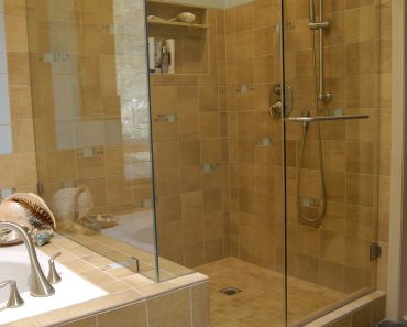 Bathroom With Bath And Shower Amusing Shower Wall Tile Designs