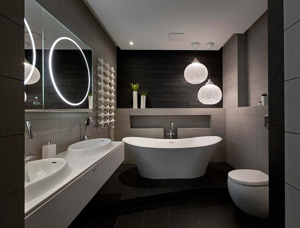 Bathrooms Interiors Modest With Regard To Bathroom The Home Modern Design Interior Bathroom