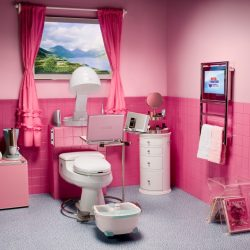 Beautiful Pink Teenage Bathroom Design Aquaplus Girls Awesome Girls Bathroom Design