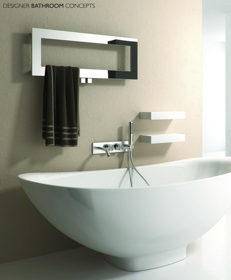 Best Heated Tower Rails Images On Pinterest Unique Designer Heated Towel Rails For Bathrooms