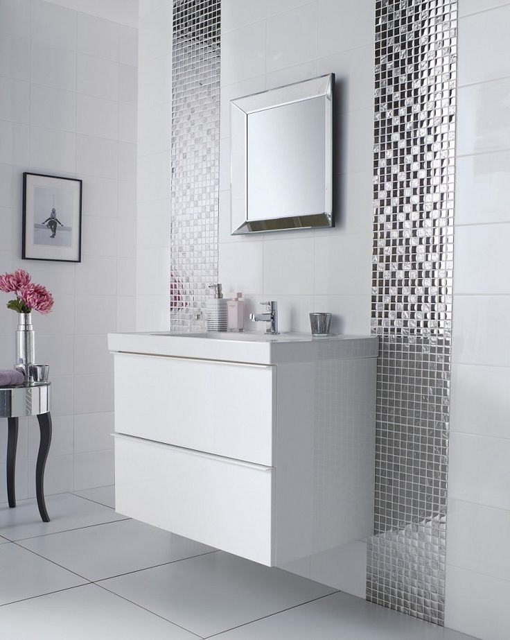 Best Mosaic Bathroom Ideas On Pinterest Bath Room Bathrooms Elegant Bathroom Mosaic Tile Designs
