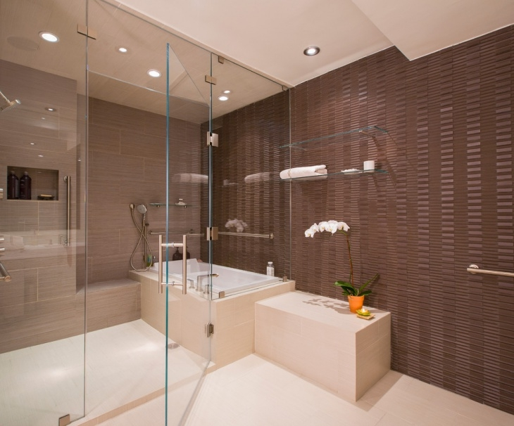 Brown Bathroom Designs Decorating Ideas Design Trends Beautiful Brown Bathroom Designs
