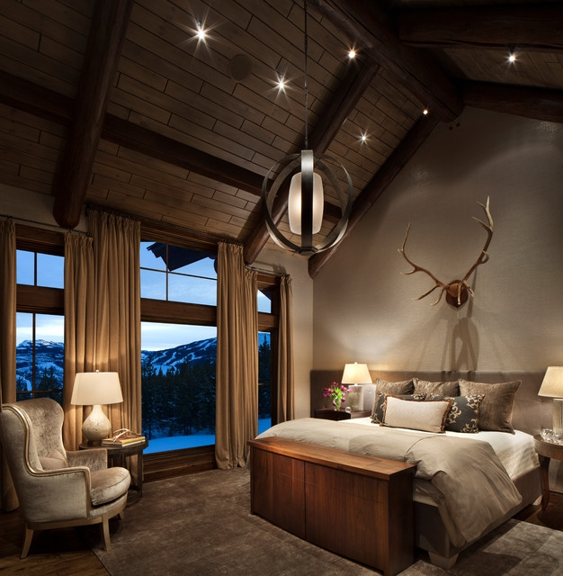 Irresistibly Warm And Cozy Rustic Bedroom Designs Cheap Warm Bedroom Designs
