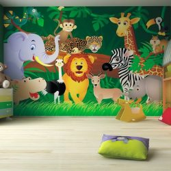 Kids Bedroom Ideas Zoo Wall Mural Kids Pinterest Wall Murals Best Childrens Bedroom Wall Painting Ideas