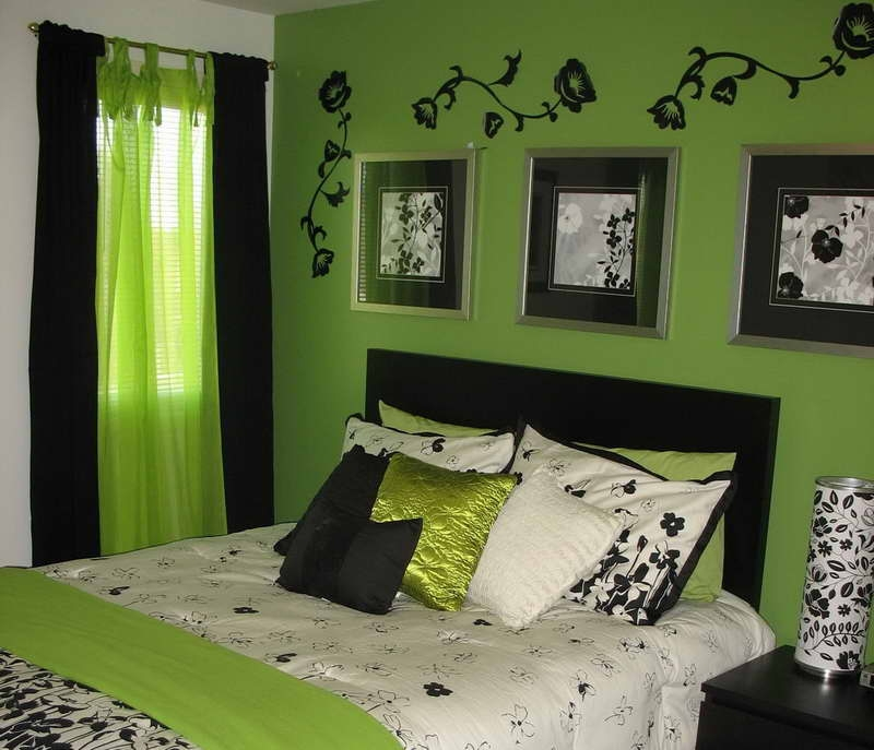 lime green bedroom designs with green cushions alissas room classic green bedroom design ideas