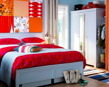 Little Ledges Over Bed And On Sides Perfect Use Modern Bedroom Awesome Bedroom Idea Ikea