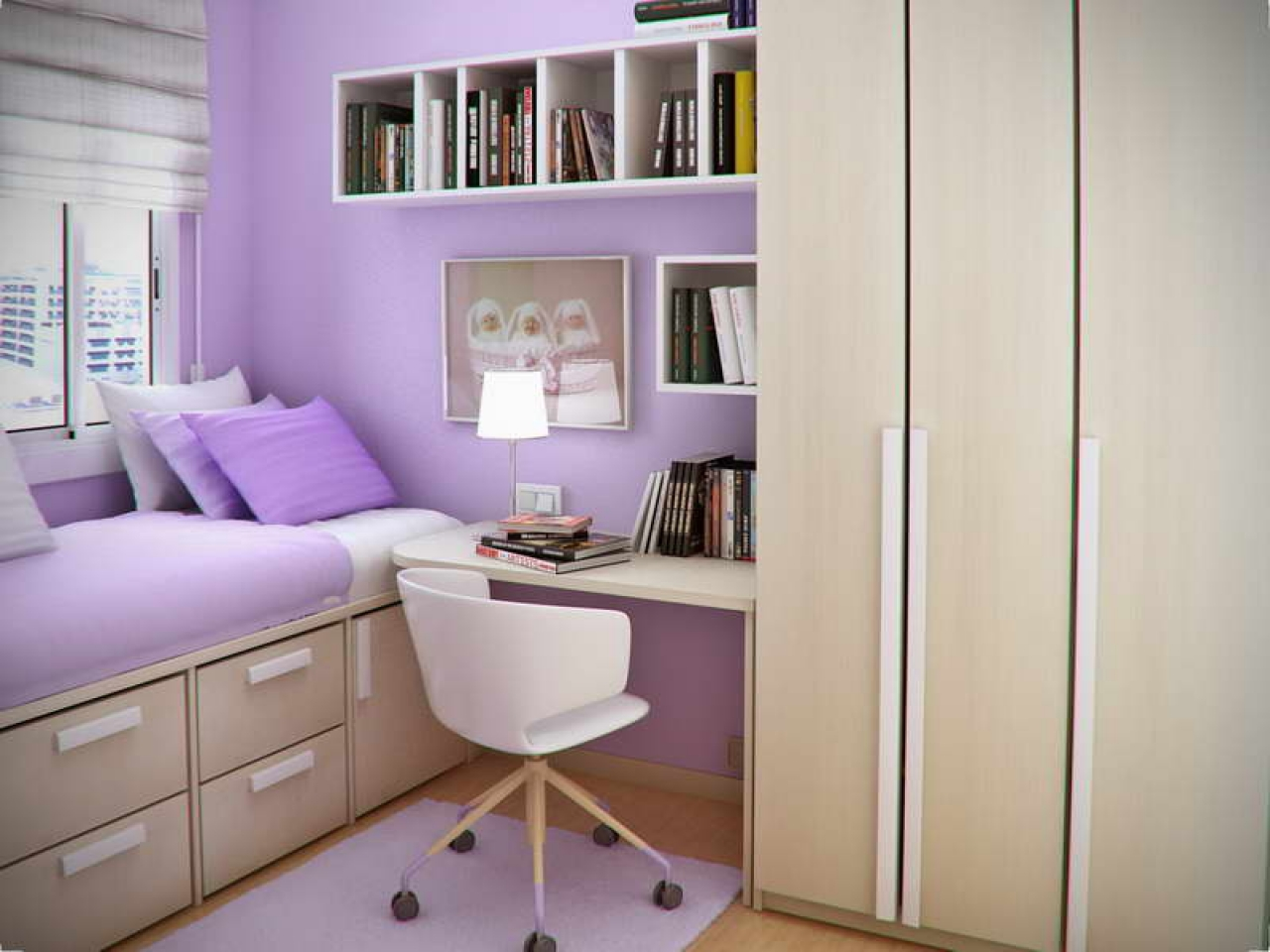 Maximize The Space Using Amusing Bedroom Cabinets For Small Rooms