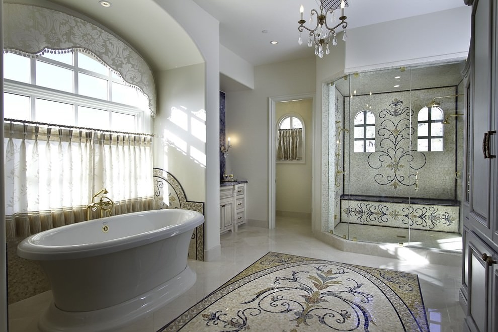Mosaic Bathroom Ideas Designs Design Trends Premium Psd Minimalist Mosaic Bathroom Designs