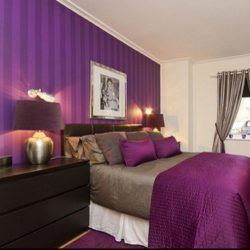 Purples Interiors Purple Bedroom Interior Design Soft Pink Furry Contemporary Bedroom Design Purple