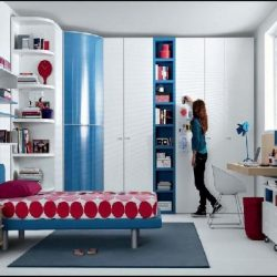 Red Blue Beech White Furniture For Good Room Ideas For Teenage Impressive Blue Bedroom Ideas For Teenage Girls