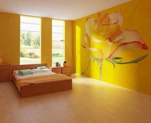 rose bedroom wall rose beauteous wall mural designs ideas