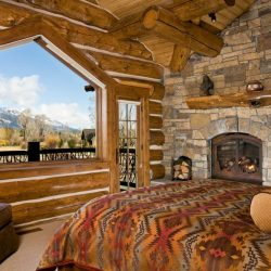 Rustic Bedrooms Design Ideas Canadian Log Homes Minimalist Cabin Bedroom Decorating Ideas