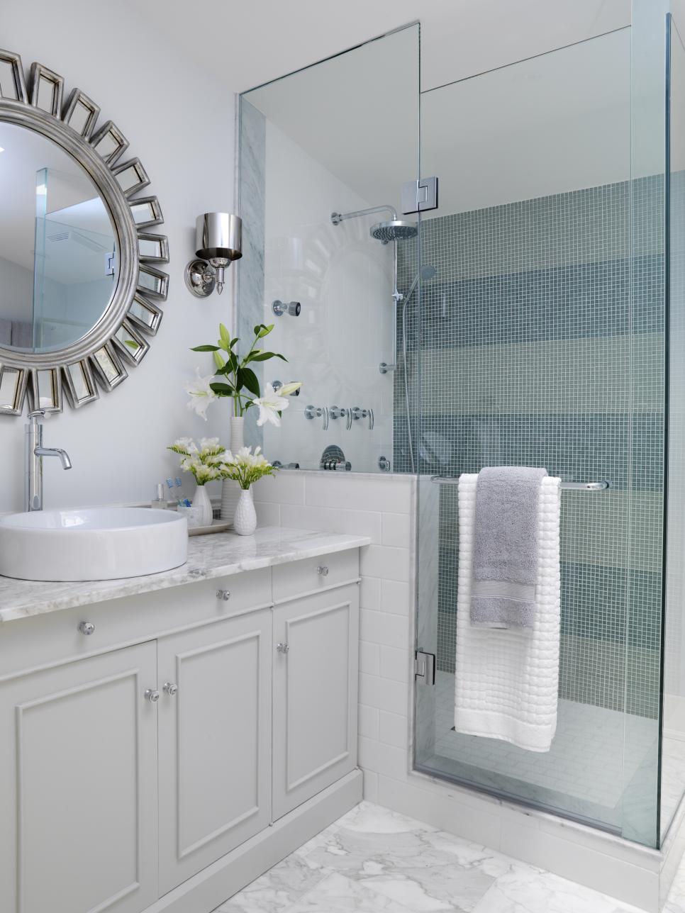 Simply Chic Bathroom Tile Unique Wall Tiles For Bathroom Designs