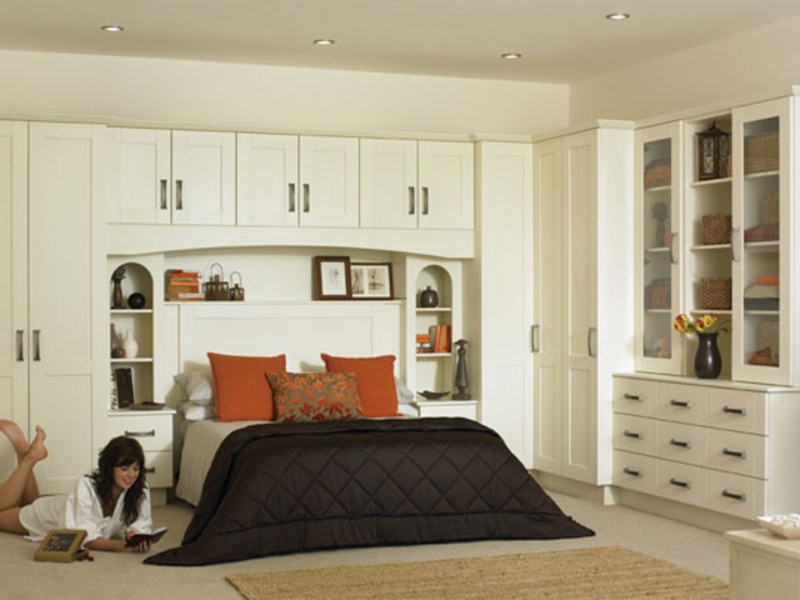 Space Saving Fitted Bedroom Furniture For Storage Creating Compact Simple Fitted Bedroom Design