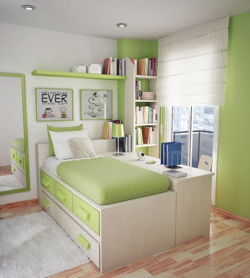 Swipe Leftright To See More Best Small Space Bedroom Ideas On Awesome Simple Bedroom Designs For Small Rooms