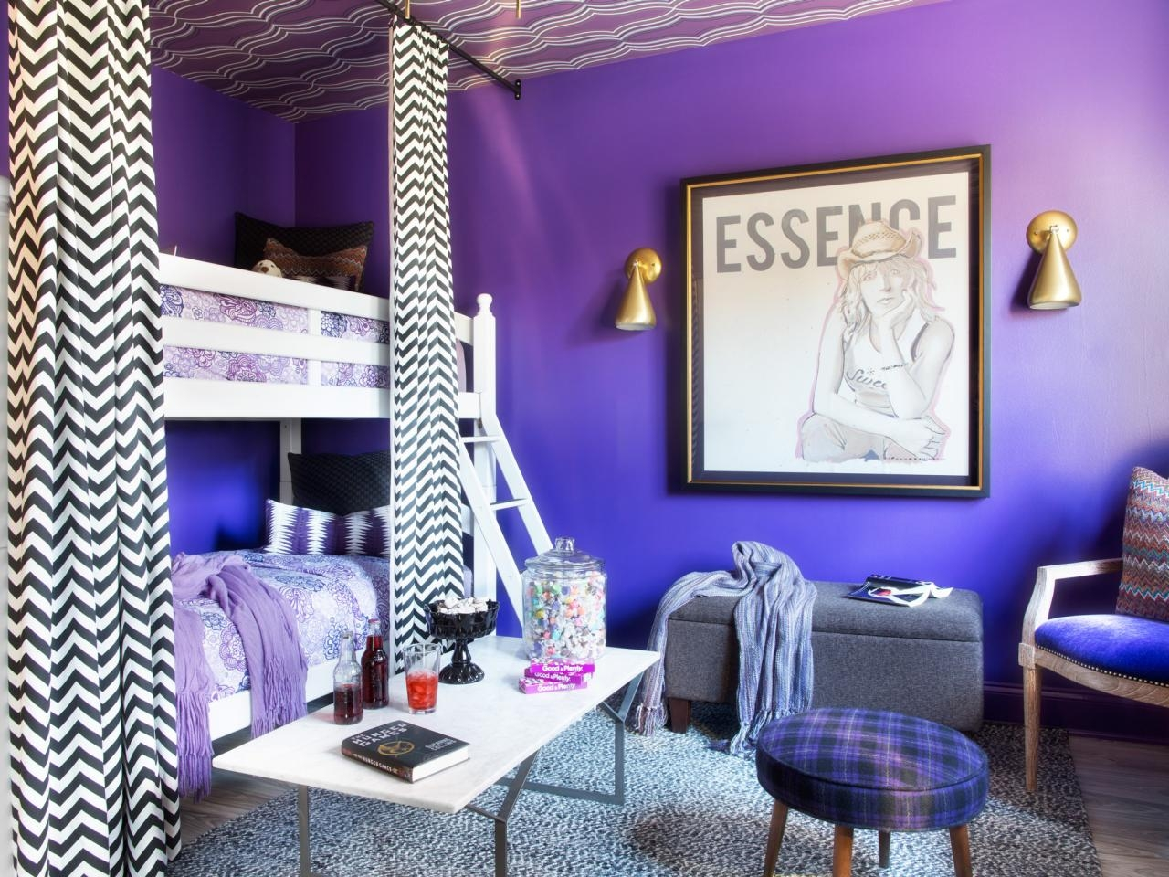 Teenage Bedroom Color Schemes Pictures Options Ideas Hgtv Cheap Teenage Girl Bedroom Wall Designs