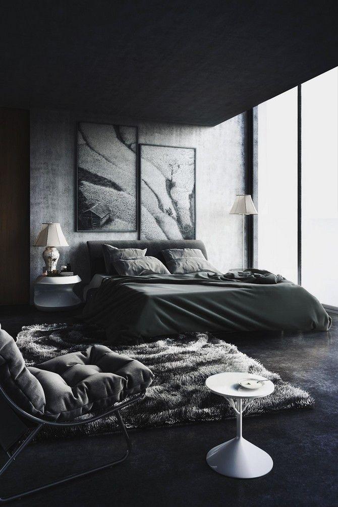 The Best Black Bedroom Decor Ideas On Pinterest Black Room Modern Black Bedroom Ideas