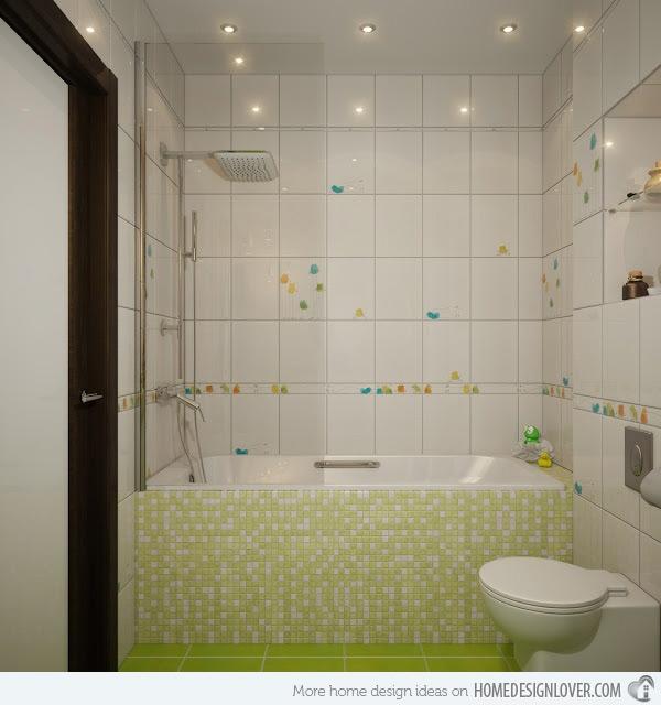 Unique Mosaic Tiled Bathrooms Home Design Lover Cool Bathroom Mosaic Tile Designs