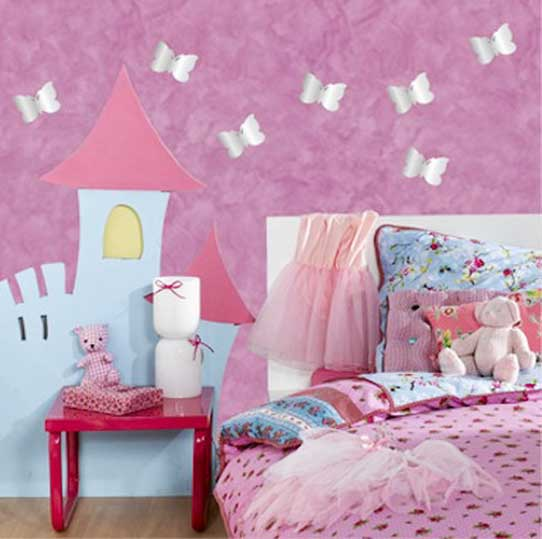 Wall Decor Ideas In Bedroom Mesmerizing Wall Designs For Girls Room