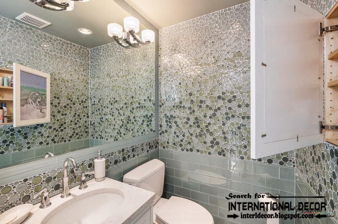Latest Beautiful Bathroom Cool Wall Tiles Design