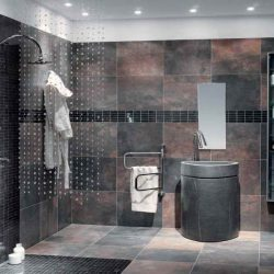 Modern Bathroom Wall Tile Endearing Bathroom Wall Designs