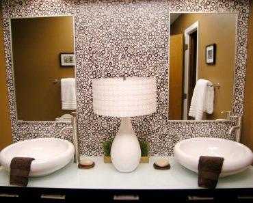Photos Of Stunning Bathroom Sinks Countertops And Backsplashes Diy Luxury Backsplash In Bathroom