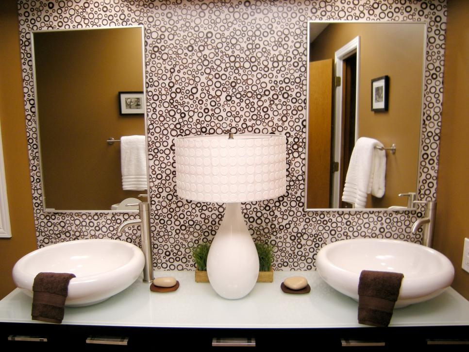 photos of stunning bathroom sinks countertops and backsplashes diy luxury backsplash in bathroom jpeg