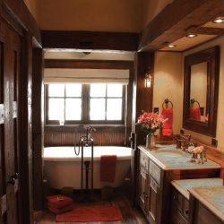 Rustic Bathroom Decor Ideas Pictures Tips From Hgtv Hgtv Awesome Rustic Bathroom Design Jpeg