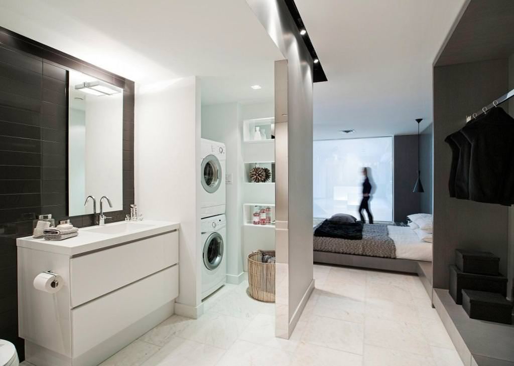 Small Laundry Bathroom Mesmerizing Bathroom Laundry Room Combo Floor Plans
