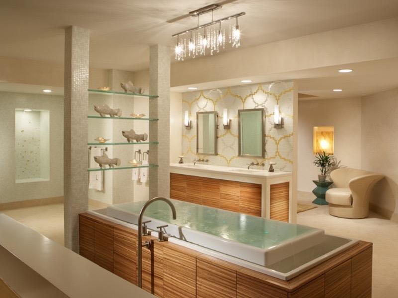 Spa Bathroom Design Ideas Houseofflowers New Bathroom Spa Design