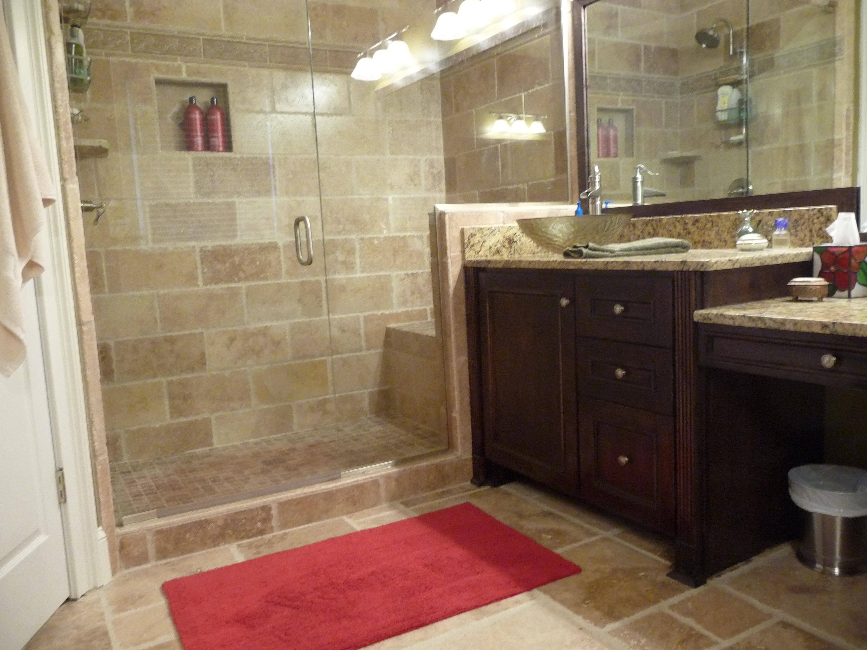 Stylish Master Bathroom Cool Small Bathroom Renovation