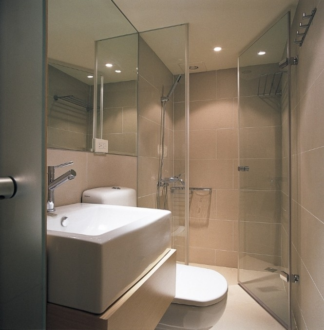 Taiwan House Shows Us Small Bathroom Design Can Still Be Beautiful Beautiful Nice Small Bathroom Designs
