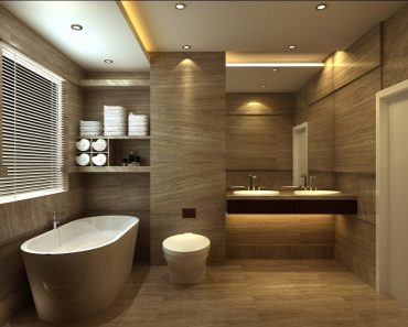 The Decor For Setting Up The Towels Bathroom Styling And Elegant Bathroom Design