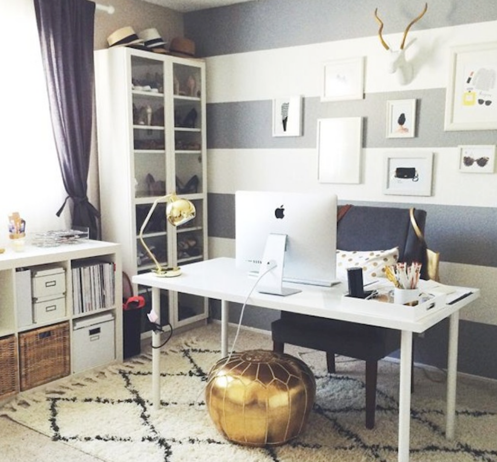 home office accents trendy decorative