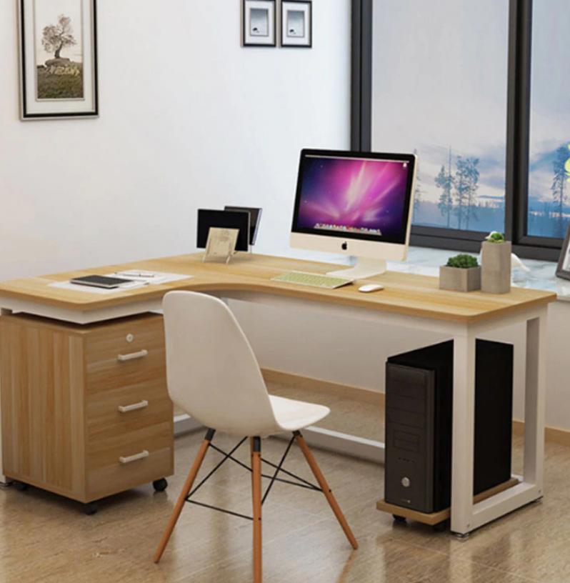 best home office corner desks L shapes