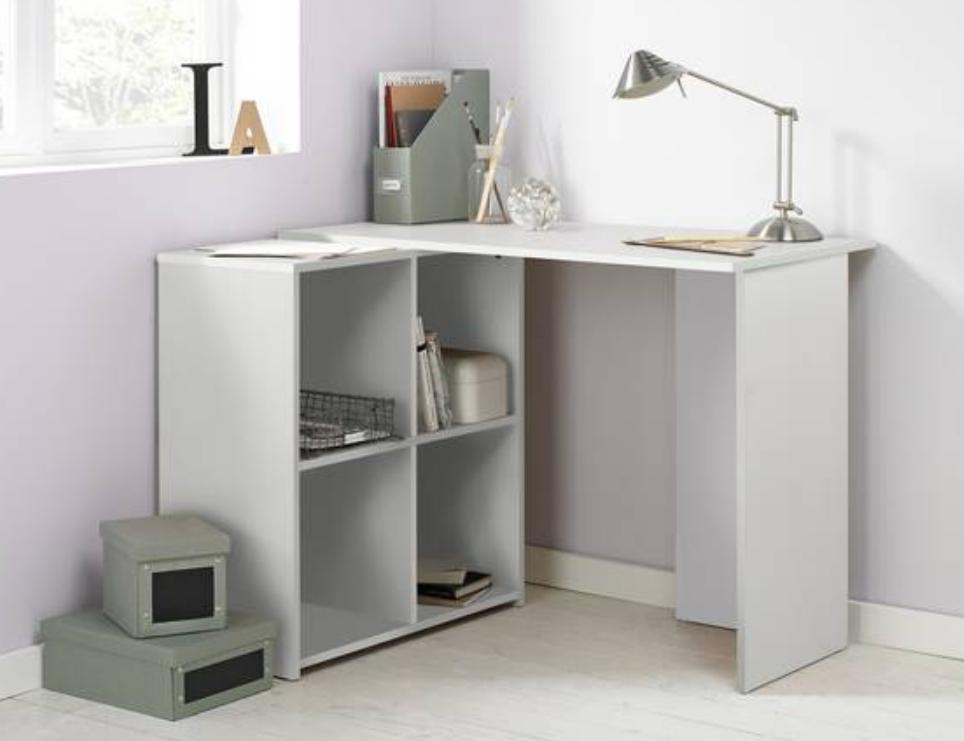 home calgary corner office desk white
