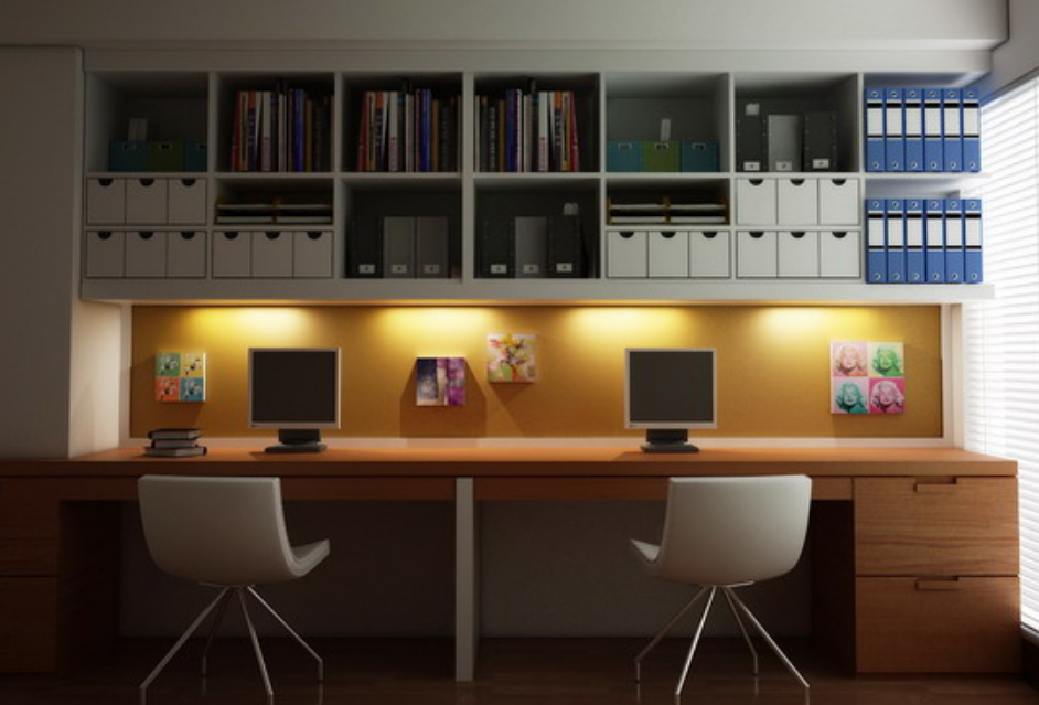 Stylish Modern Home Office Furniture Concept