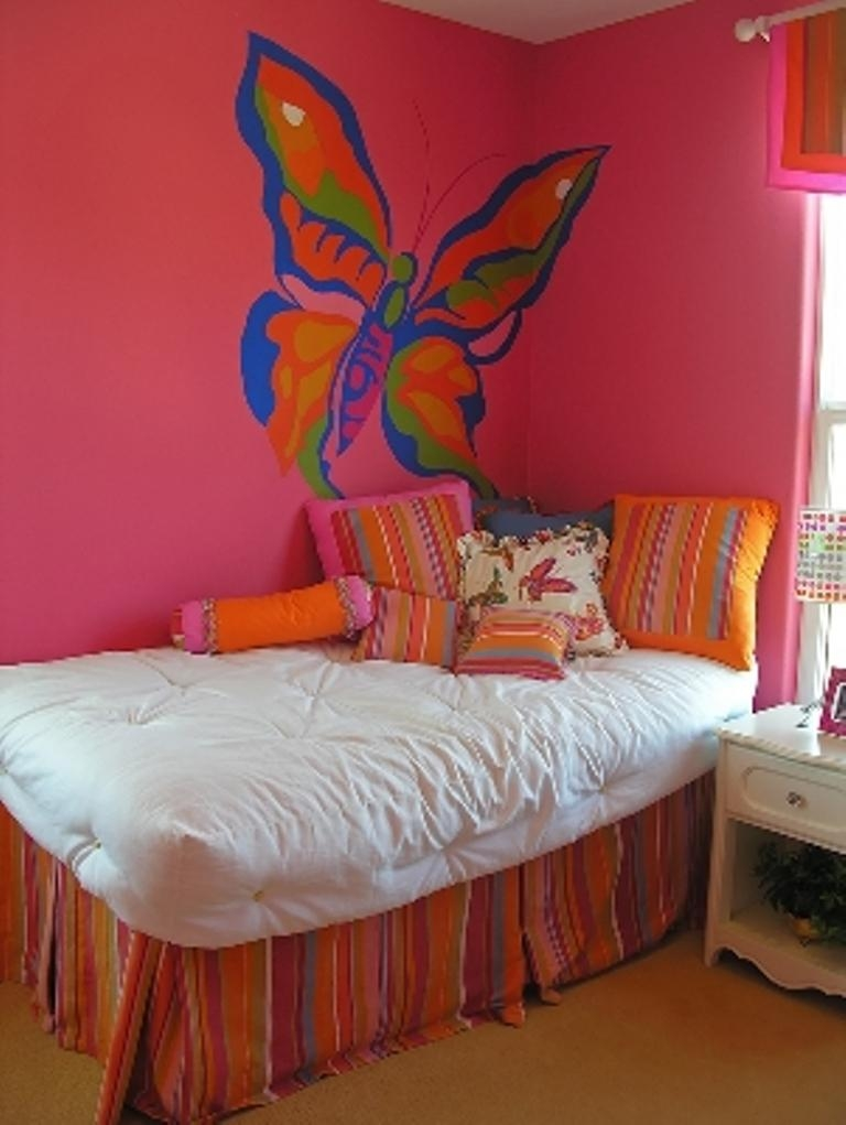 15 charming butterfly themed girls bedroom ideas rilane contemporary bedroom decoration design