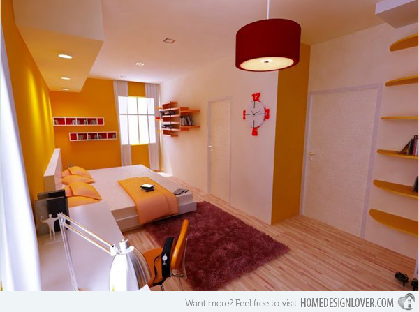 15 Zesty Yellow Bedroom Awesome Home Design Lover