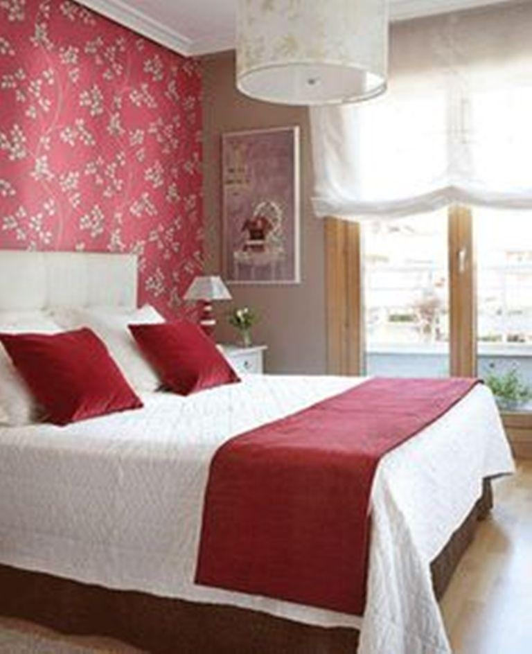 20 charming bedroom designs with floral wallpaper rilane awesome floral wallpaper bedroom ideas