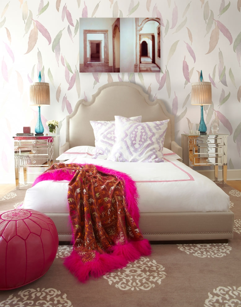 20 Girly Bedroom Designs Decorating Ideas Design Trends Inexpensive Girly Bedroom Design