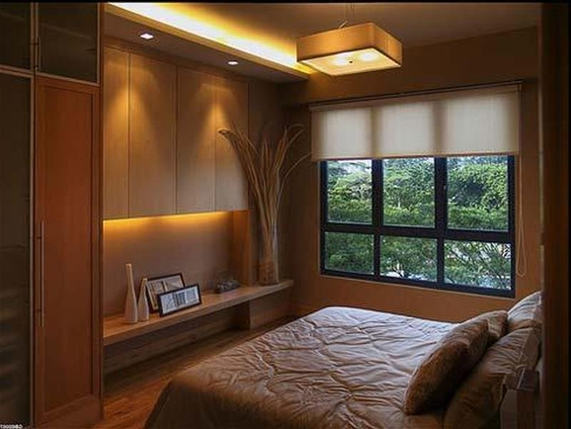 23 Efficient And Attractive Small Bedroom Designs Minimalist Design Small Bedroom
