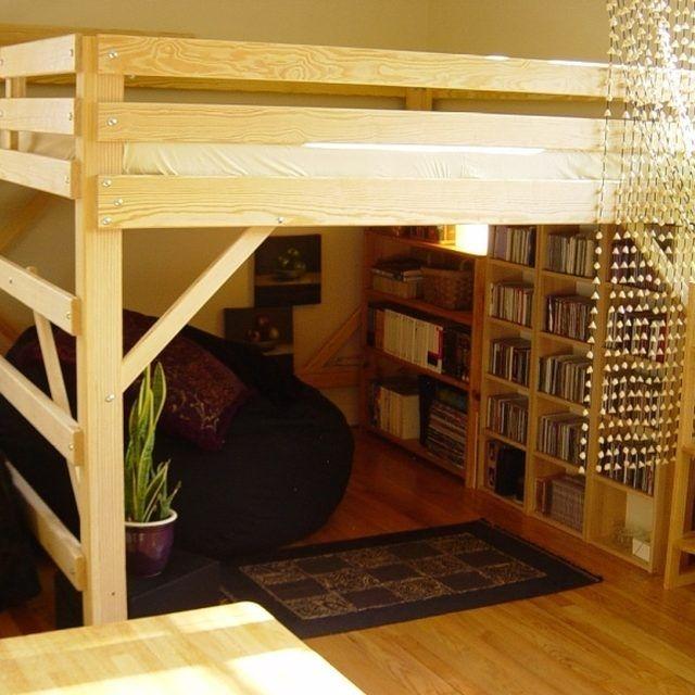 25 Best Ideas About Adult Loft Bed On Pinterest Lofted Beds Simple Bedroom Loft Ideas