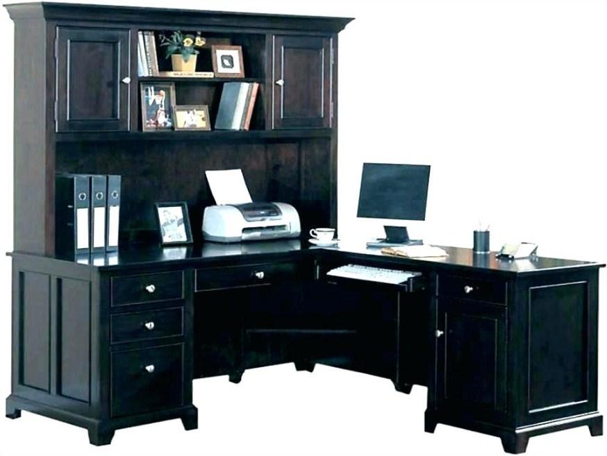 Home Office Computer Hutch Desk Decoration